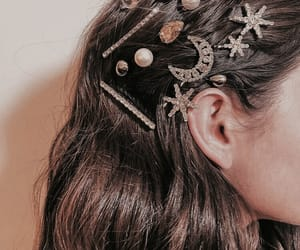 hair, accessories, and style image