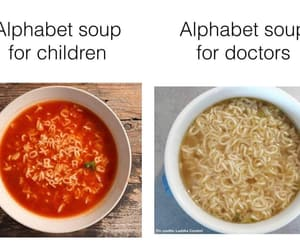 alphabet, doctor, and funny image