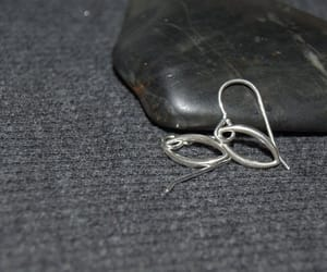 etsy, geometric earrings, and minimalist earrings image