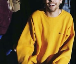 yellow, louis tomlinson, and fan image