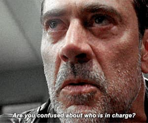 gif, jeffrey dean morgan, and twd image