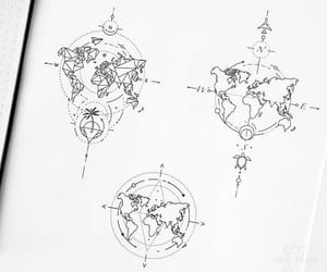 design, geometric, and map image