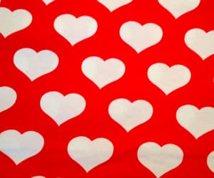 hearts, red, and pattern image