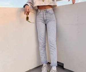 emma chamberlain, alternative, and denim image