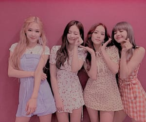 blink, rose, and blackpink image