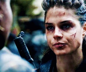 gif, the 100, and marie avgeropoulos image