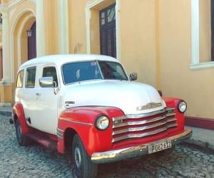 car, cuba, and trinidad image