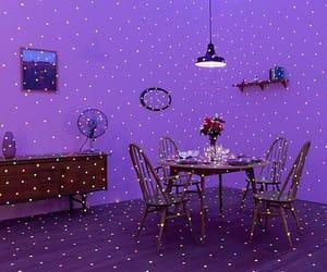 purple, light, and grunge image