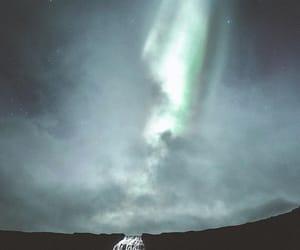nature, stars, and northern lights image