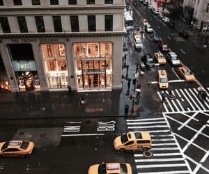 city, street, and new york image