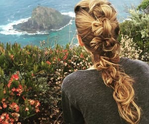 braid, hair, and blake lively image