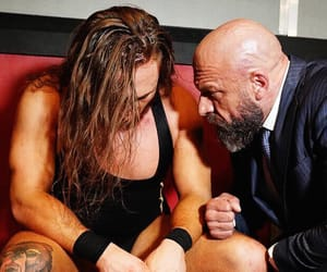 wwe, triple h, and pete dunne image
