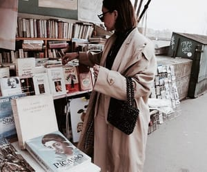 fashion, books, and shopping image