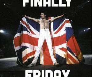 Freddie Mercury, friday, and viernes image