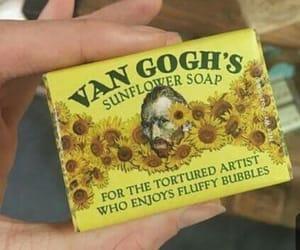 yellow, van gogh, and soap image