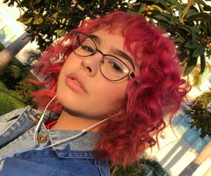 alternative, curly hair, and indie image