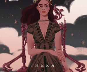 hera and greek mythology image