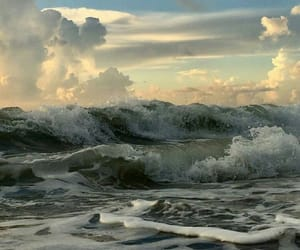 clouds, ocean, and photography image