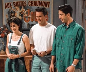 90s, chandler bing, and Courteney Cox image