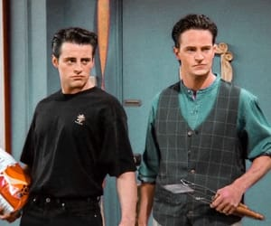 friends, chandler bing, and 90s image