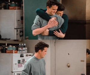 90s, chandler bing, and F.R.I.E.N.D.S. image