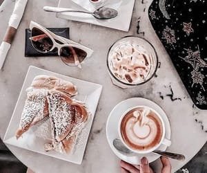 food, coffee, and drinks image
