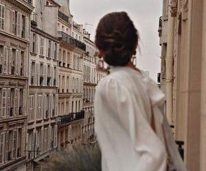 april, coat, and girl image