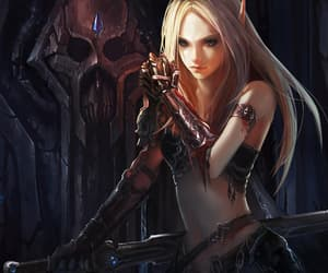 elf, fantasy, and fanart image
