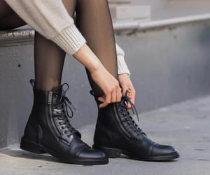 black, boots, and chaussures image