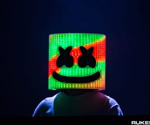 music video, marshmello, and music image