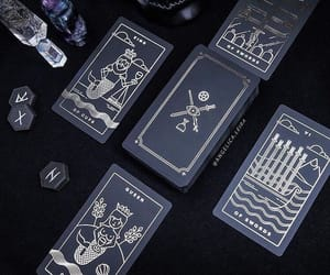 black, cards, and must have image