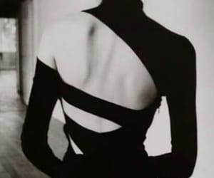 backless, fashion, and black image