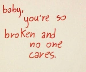 baby, broken, and care image