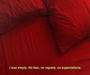 quotes, empty, and red image