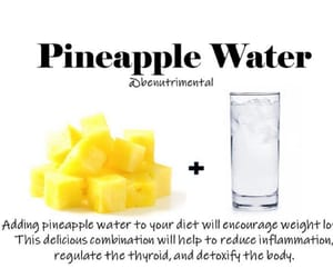 diet, health, and pineapple image
