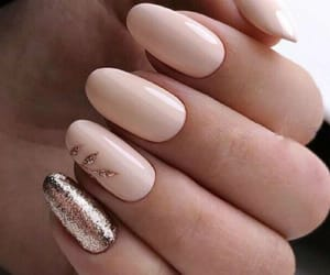 nails, glittery nails, and cute image