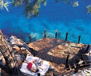 blue, ocean, and romantic image