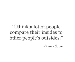 quotes, words, and emma stone image