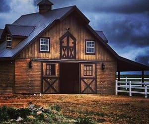 barn, country, and farm image