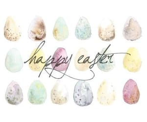 april, easter, and easter eggs image