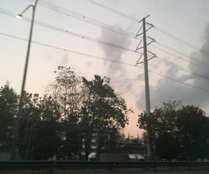 clouds, lights, and skies image