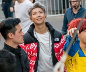 bts, rm, and rap monster image
