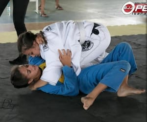 girls, sport, and bjj image