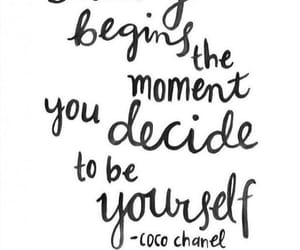 coco chanel, inspiration, and quote image