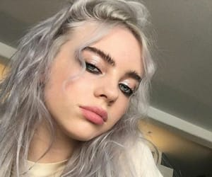 billie eilish and curls image
