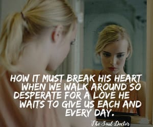 blonde, love quotes, and christian quotes image