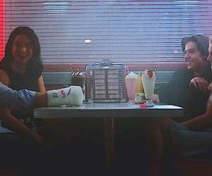 diner, milkshakes, and cole sprouse image