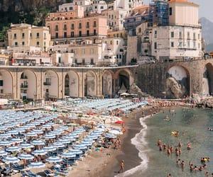 travel, architecture, and beach image