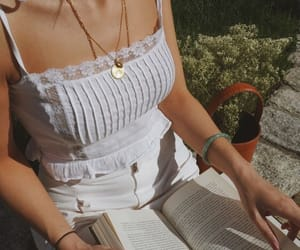 fashion, book, and white image