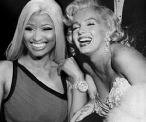 edit, nicki minaj, and Marilyn Monroe image